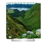 Sete Cidades - Azores Shower Curtain