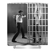 Silent Still: Punishment Shower Curtain