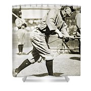 Ty Cobb (1886-1961) Shower Curtain