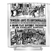 Uncle Toms Cabin Shower Curtain