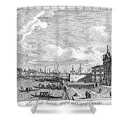 Venice: Grand Canal, 1742 Shower Curtain