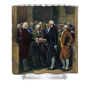 Washington: Inauguration Shower Curtain