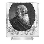 William Cullen Bryant Shower Curtain