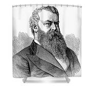 William Worth Belknap Shower Curtain