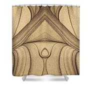 Art Abstract Shower Curtain