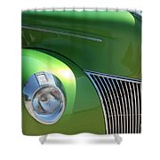 40 Ford - Front Pass Angle-8651 Shower Curtain