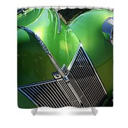 40 Ford - Grill Angle-8659 Shower Curtain