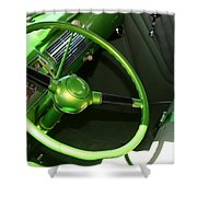 40 Ford - Interior-8586 Shower Curtain