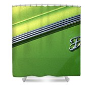40 Ford - Logo-8589 Shower Curtain