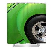 40 Ford-driver Rear Wheel-8581 Shower Curtain