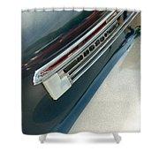 41 Hudson Super Six Emblem Shower Curtain