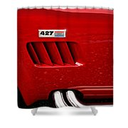427 Ford Cobra Shower Curtain by Gordon Dean II
