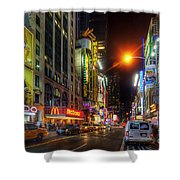 42nd Street Nyc 3.0 Shower Curtain