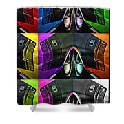 440 Cuda Billboard Pop Shower Curtain