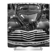 48 Chevy Convertible Shower Curtain