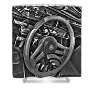 48 Chevy Convertible Interior Shower Curtain