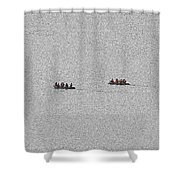 48- Shipwrecked Shower Curtain