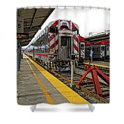 4th And King St. Caltrains Station - San Francisco Shower Curtain