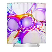 Abstract Of Circle  Shower Curtain