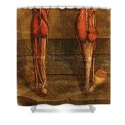 Anatomie Generale Des Visceres Shower Curtain