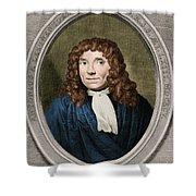 Anton Van Leeuwenhoek, Dutch Shower Curtain