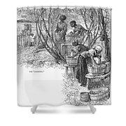 Arkansas: Hot Springs, 1878 Shower Curtain by Granger