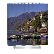 Ascona Shower Curtain by Joana Kruse