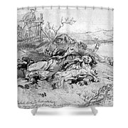Battle Of Fredericksburg Shower Curtain