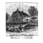 Benedict Arnold (1741-1801) Shower Curtain