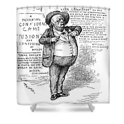 Benjamin Butler (1818-1893) Shower Curtain