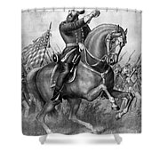 Benjamin Harrison Shower Curtain