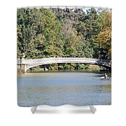 Bow Bridge Shower Curtain
