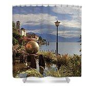 Brissago - Ticino Shower Curtain