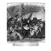 Christopher Columbus Shower Curtain