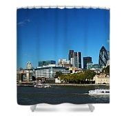 City Of London Skyline Shower Curtain