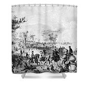 Civil War: Gettysburg Shower Curtain