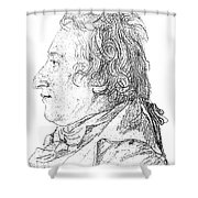 Claude-louis Berthollet, French Chemist Shower Curtain