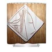 Dreams - Tile Shower Curtain