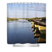 Dunfanaghy, County Donegal, Ireland Shower Curtain