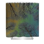 Epping Forest Art Shower Curtain