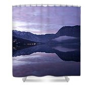 First Sunset Of The Year Shower Curtain