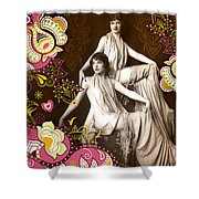 Goddesses Shower Curtain