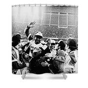 Hank Aaron (1934- ) Shower Curtain