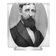 Henry David Thoreau Shower Curtain