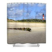 Hoernum - Sylt Shower Curtain by Joana Kruse