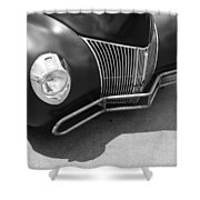 Hot Rod Front Shower Curtain