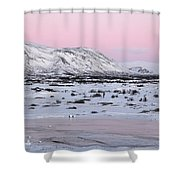 Iceland Shower Curtain