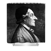 Johann Kaspar Lavater Shower Curtain