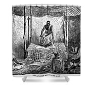 John H. Speke (1827-1864) Shower Curtain