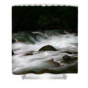 Little Susitna River Shower Curtain